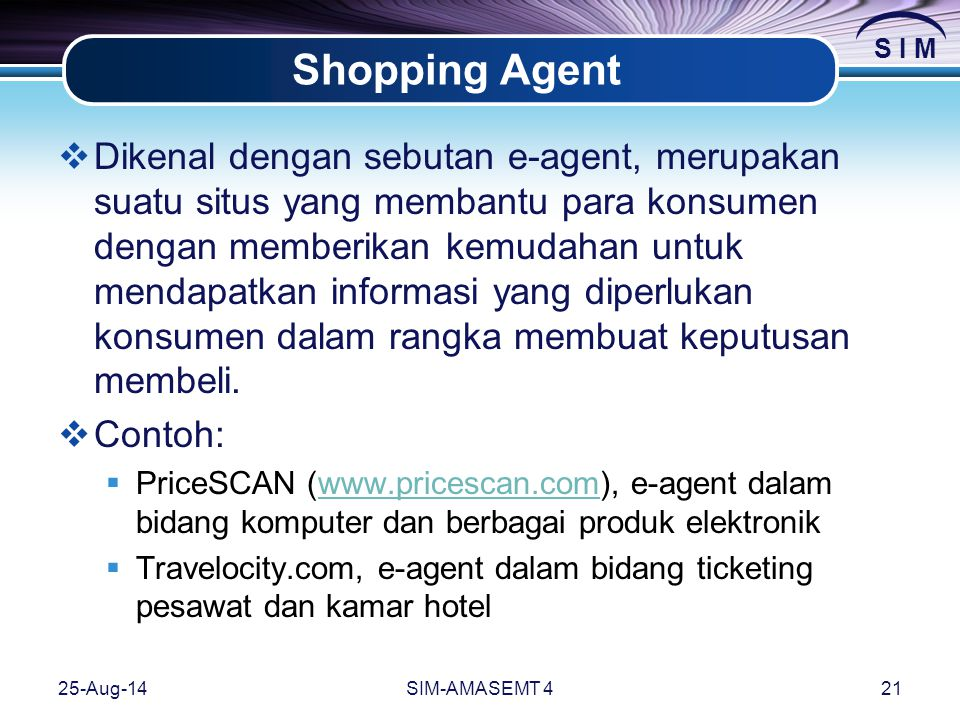 Shopping Agent