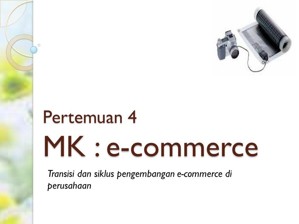 Pertemuan 4 MK : e-commerce