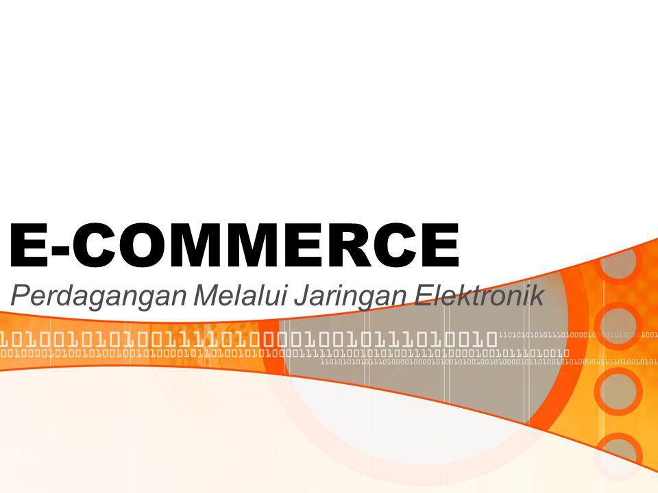 Perdagangan Melalui Jaringan Elektronik