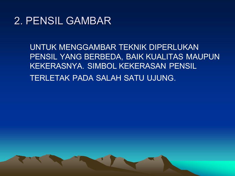 2. PENSIL GAMBAR