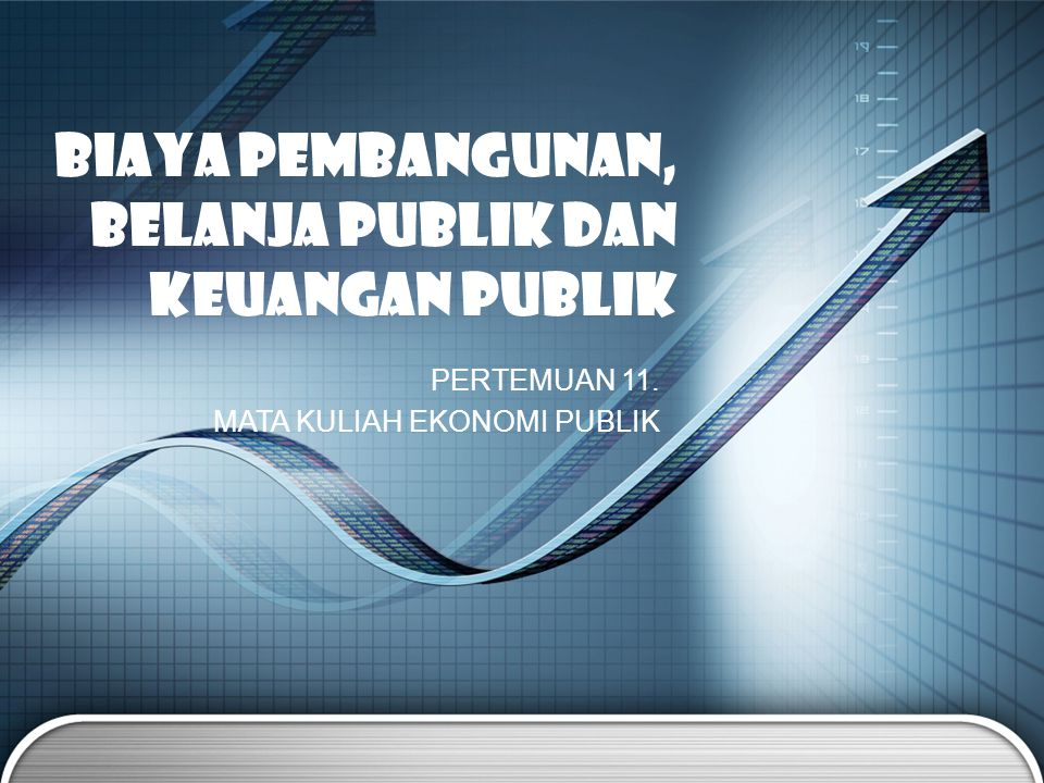 BIAYA PEMBANGUNAN, BELANJA PUBLIK dan Keuangan PUBLIK