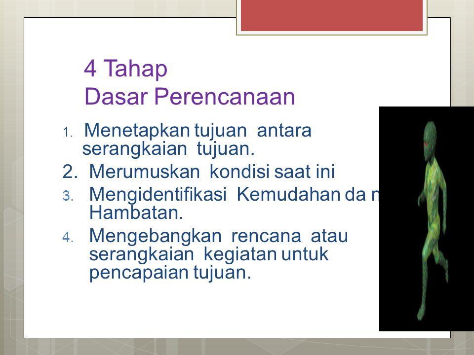 4 Tahap Dasar Perencanaan