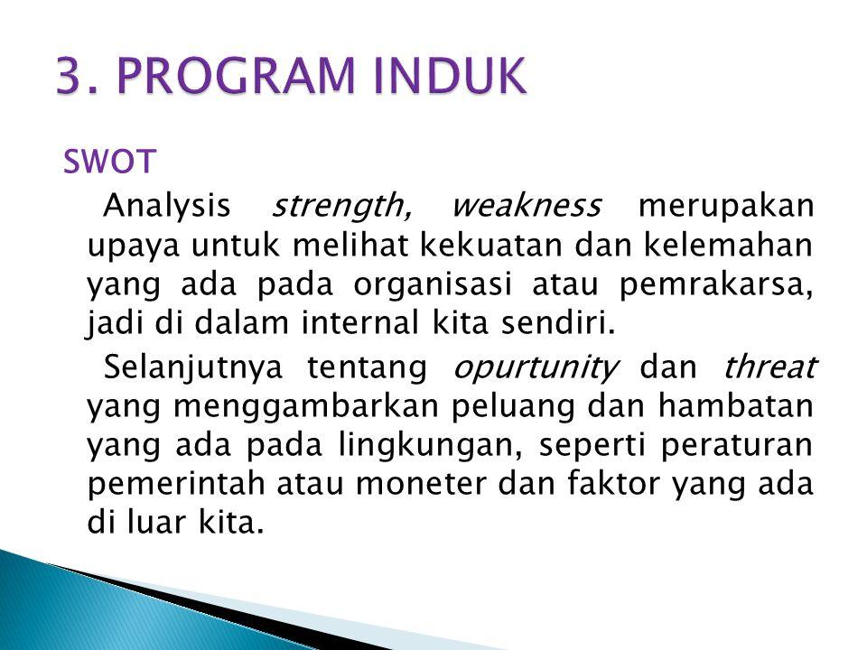3. PROGRAM INDUK