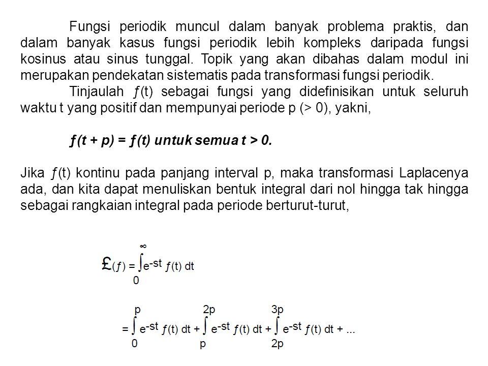 Fungsi periodik muncul dalam banyak problema praktis, dan dalam banyak kasus fungsi periodik lebih kompleks daripada fungsi kosinus atau sinus tunggal. Topik yang akan dibahas dalam modul ini merupakan pendekatan sistematis pada transformasi fungsi periodik.