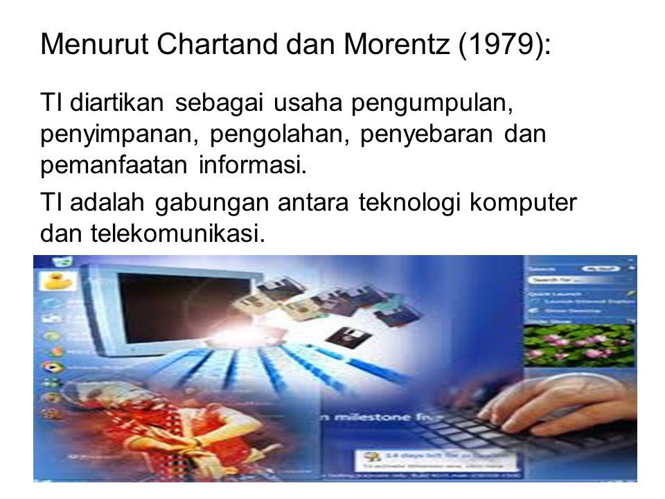 Menurut Chartand dan Morentz (1979):