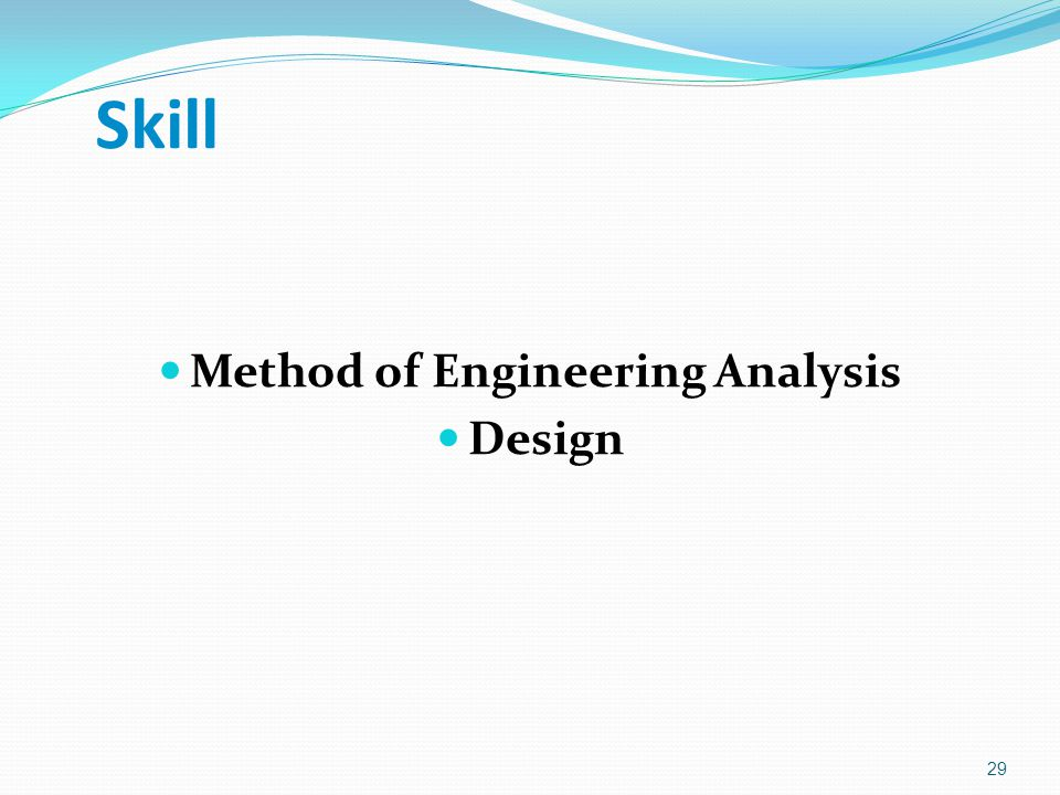 Method of Engineering Analysis