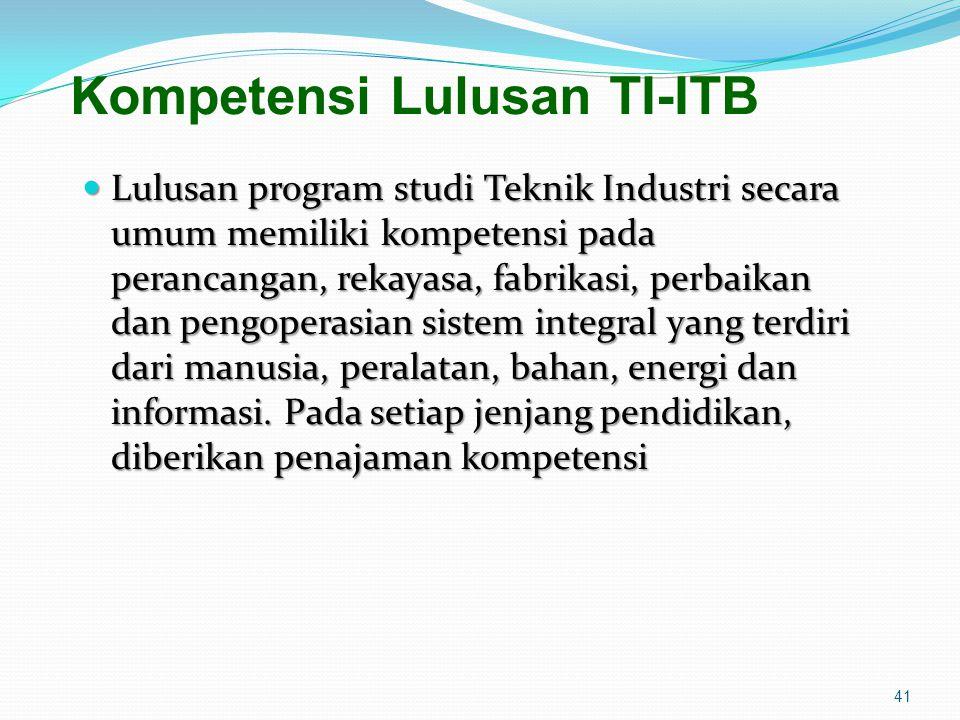 Kompetensi Lulusan TI-ITB