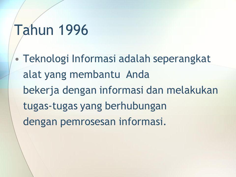 Tahun 1996