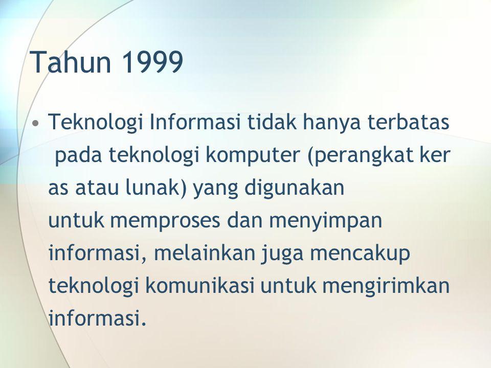 Tahun 1999