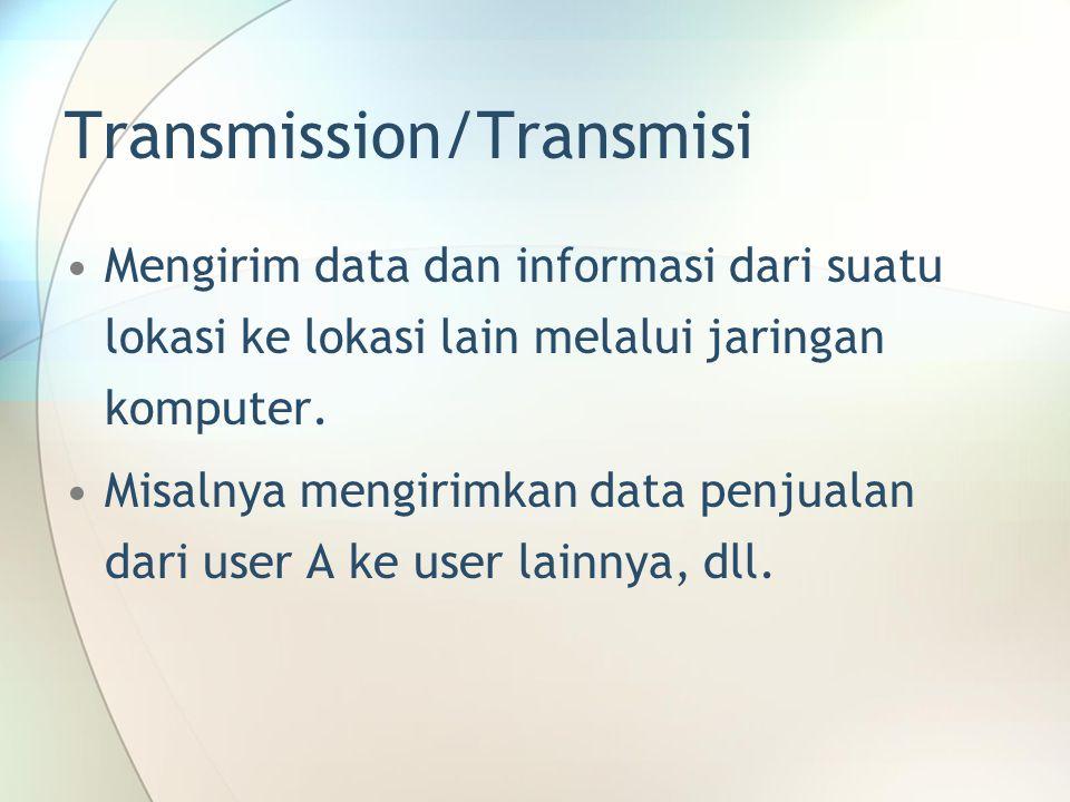 Transmission/Transmisi