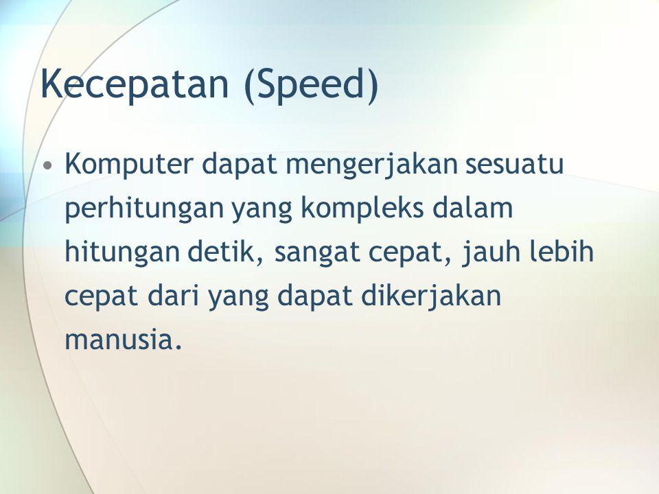 Kecepatan (Speed)