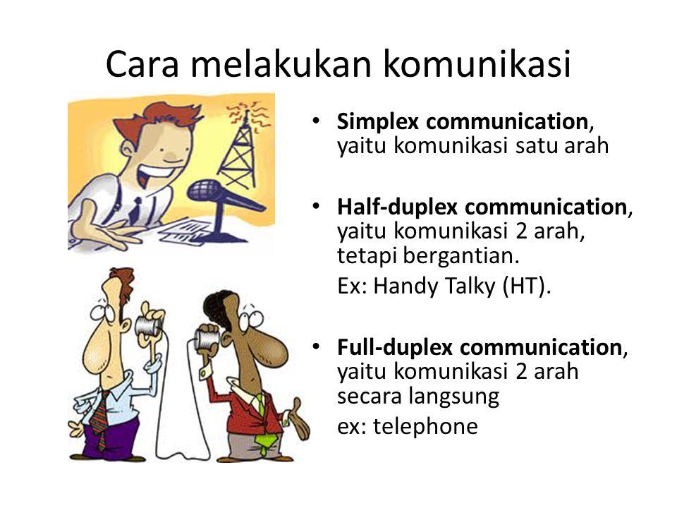 Cara melakukan komunikasi