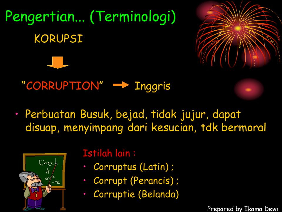 Pengertian... (Terminologi)