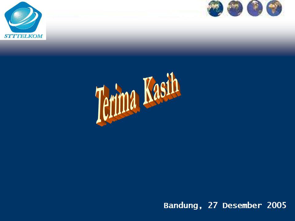 Terima Kasih Bandung, 27 Desember 2005