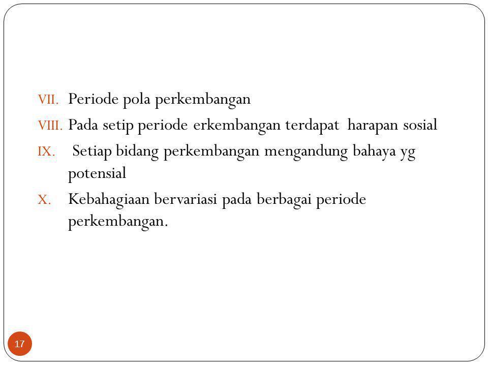 Periode pola perkembangan