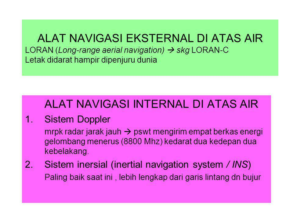 ALAT NAVIGASI INTERNAL DI ATAS AIR