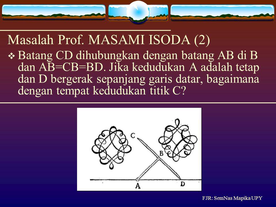 Masalah Prof. MASAMI ISODA (2)