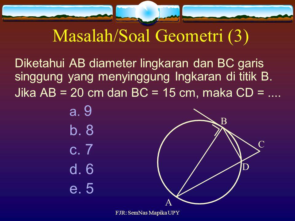 Masalah/Soal Geometri (3)