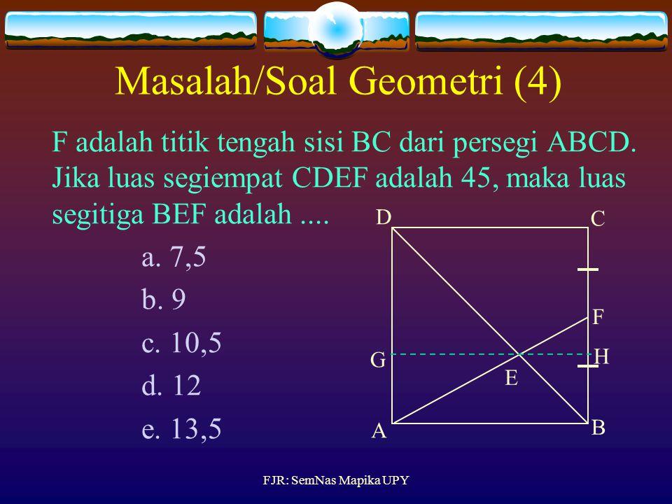 Masalah/Soal Geometri (4)