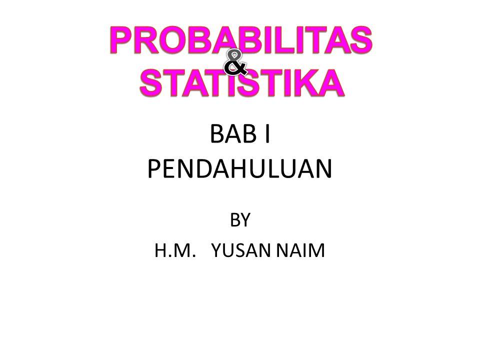 PROBABILITAS STATISTIKA &