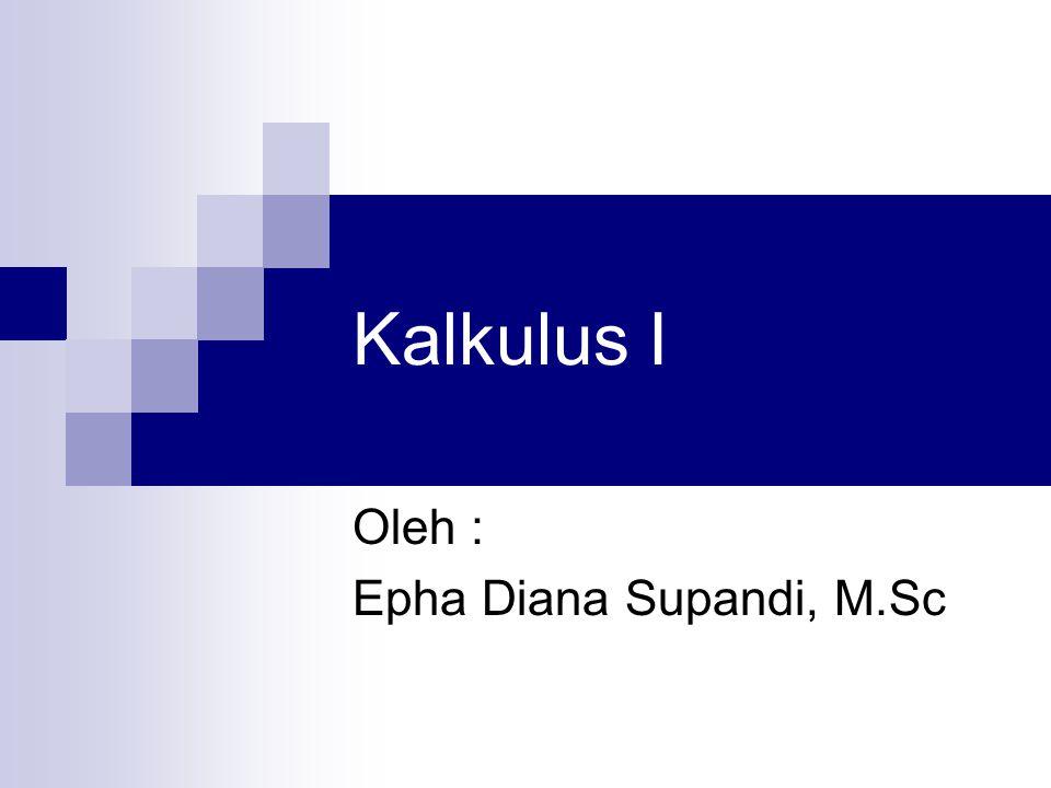 Oleh : Epha Diana Supandi, M.Sc