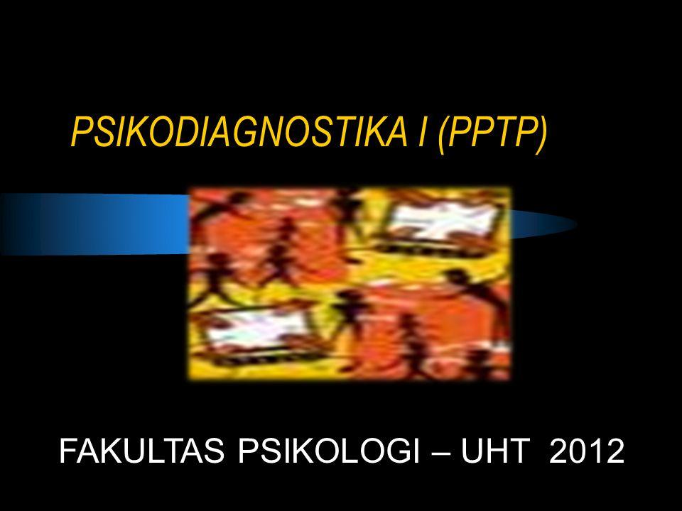PSIKODIAGNOSTIKA I (PPTP)