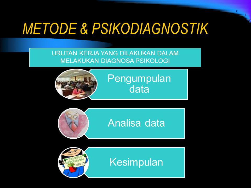 METODE & PSIKODIAGNOSTIK
