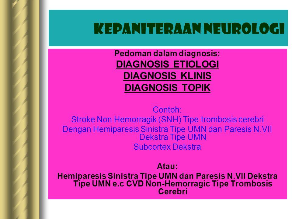 Kepaniteraan Neurologi