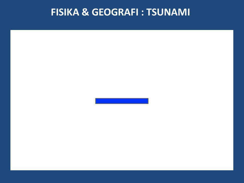 FISIKA & GEOGRAFI : TSUNAMI