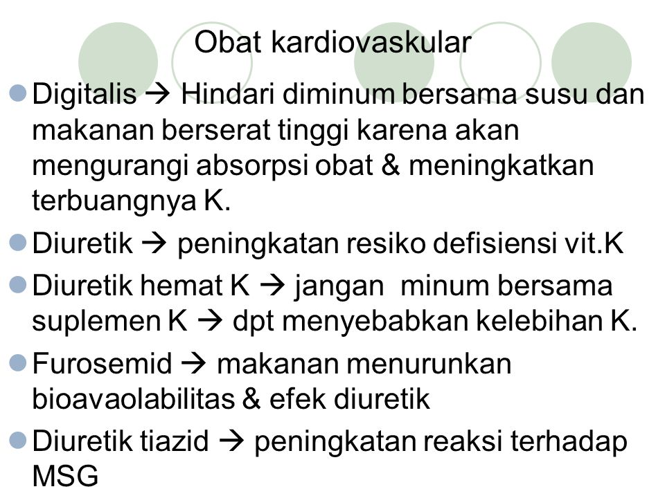 Obat kardiovaskular