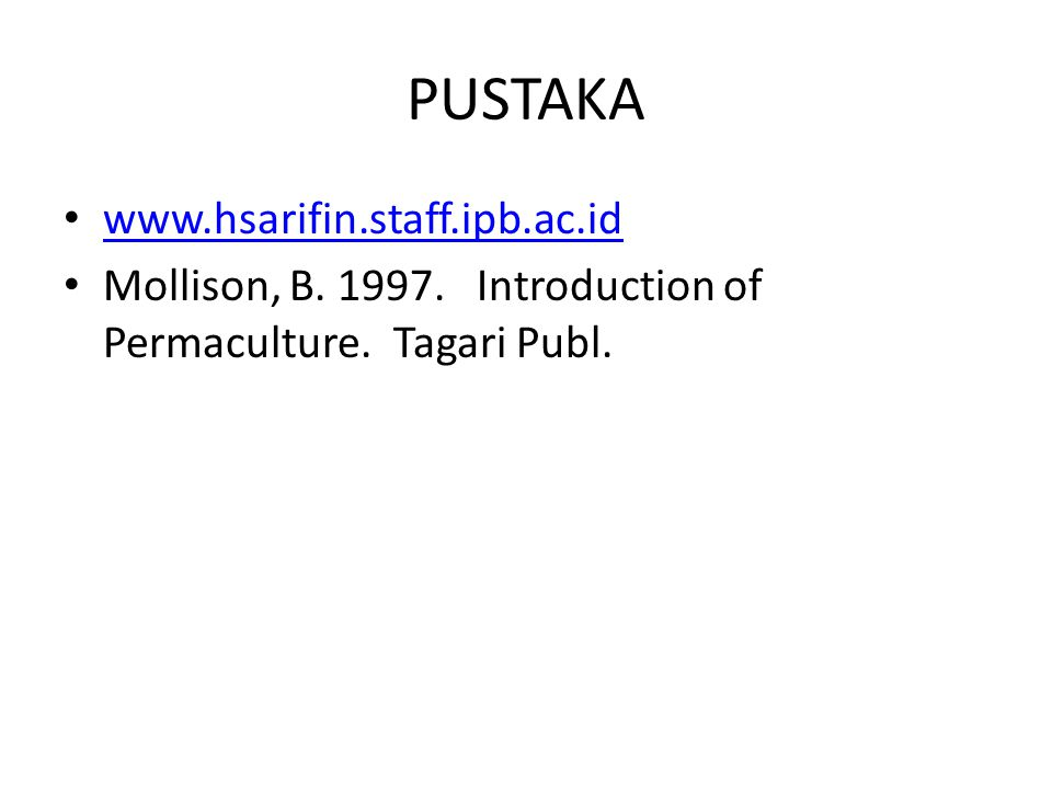 PUSTAKA www.hsarifin.staff.ipb.ac.id