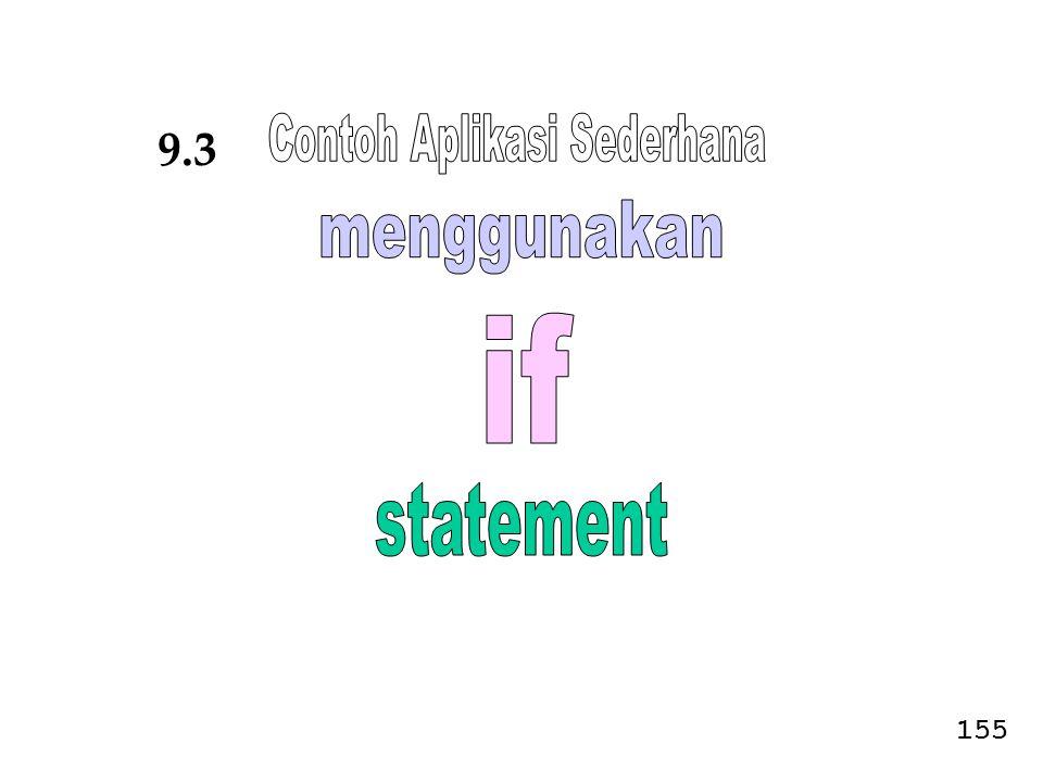 Contoh Aplikasi Sederhana