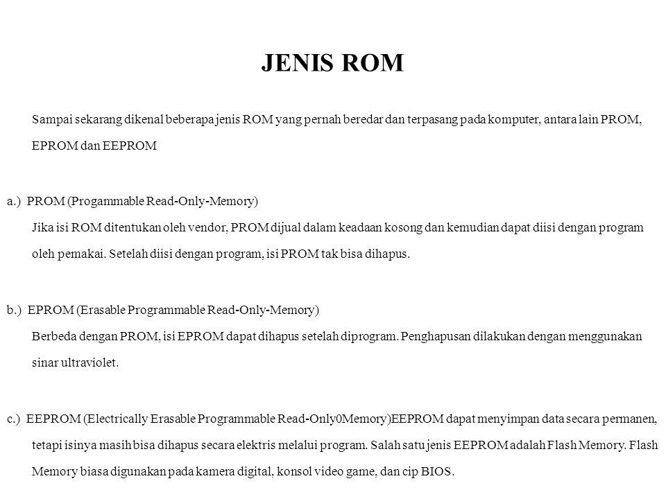JENIS ROM