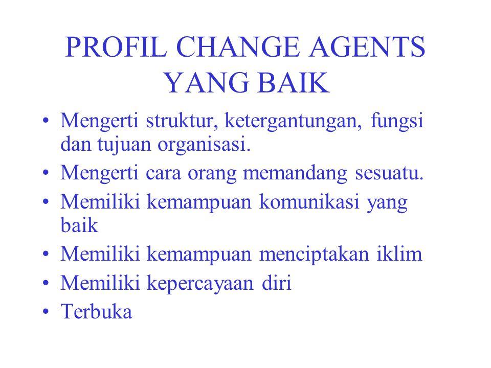 PROFIL CHANGE AGENTS YANG BAIK