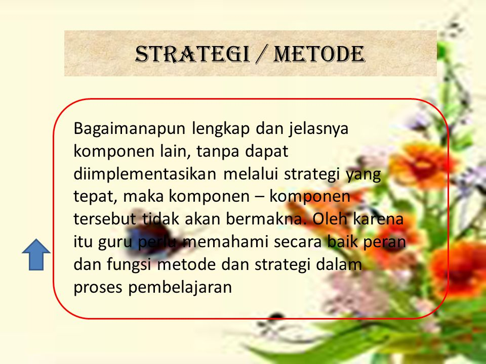 Strategi / metode