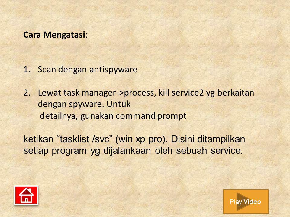 Scan dengan antispyware