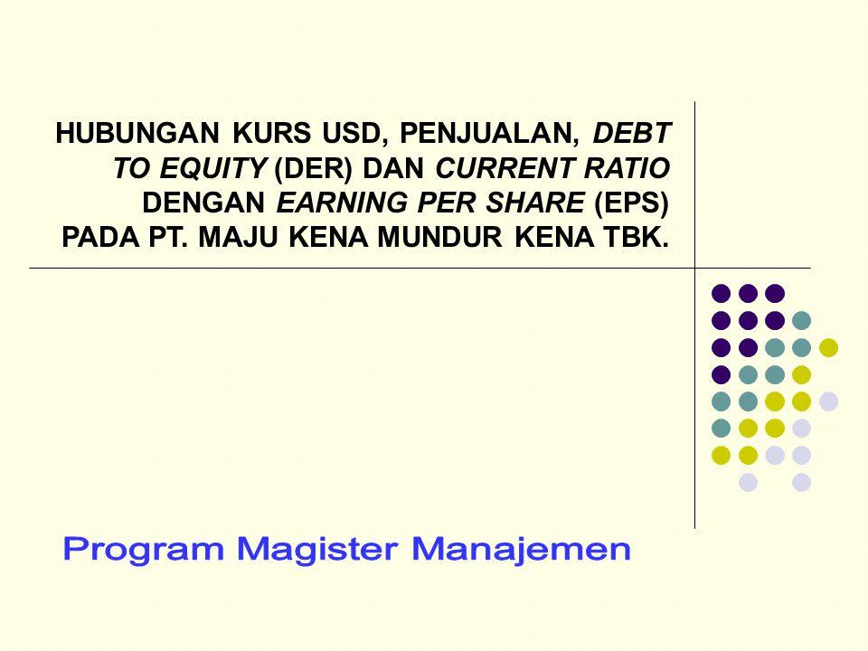 Program Magister Manajemen