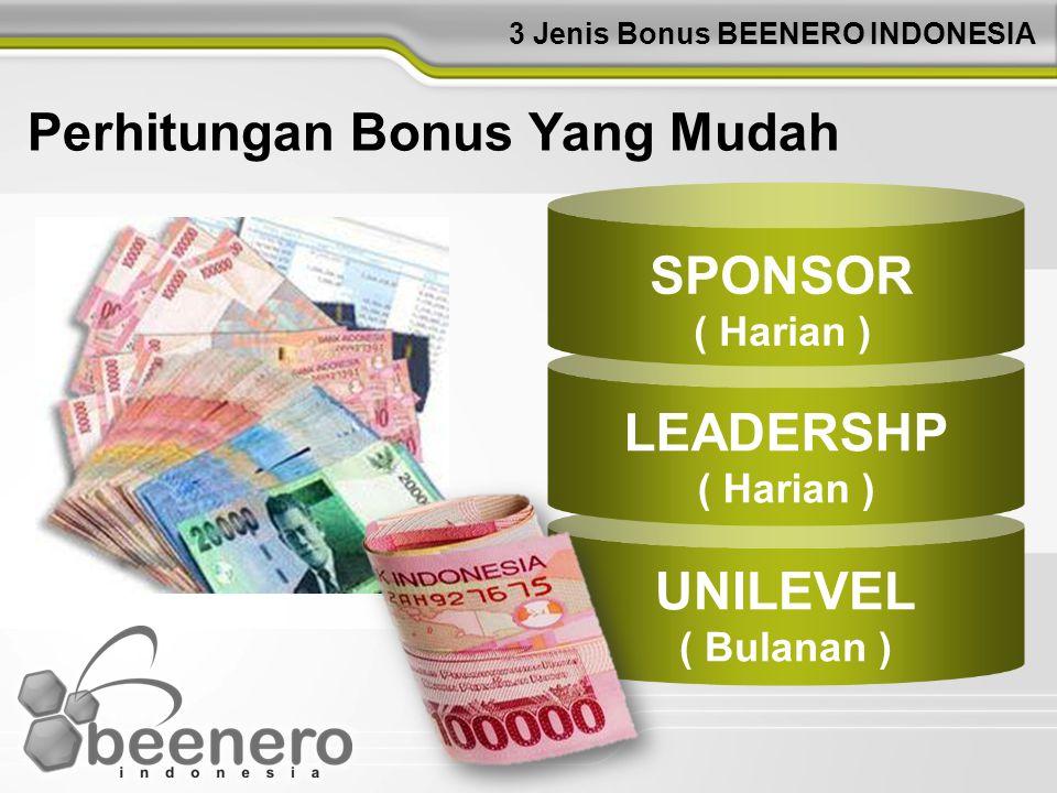3 Jenis Bonus BEENERO INDONESIA