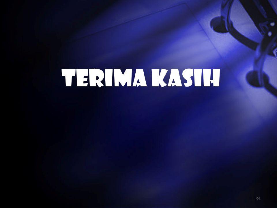 TERIMA KASIH 34