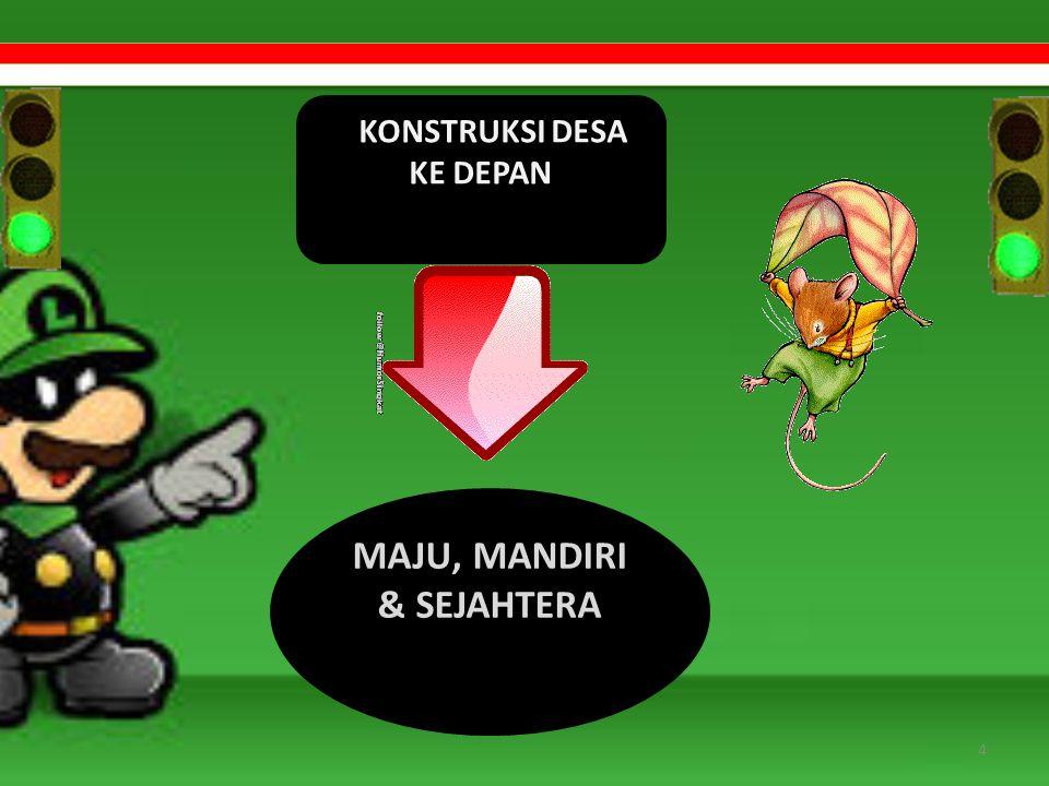 MAJU, MANDIRI & SEJAHTERA