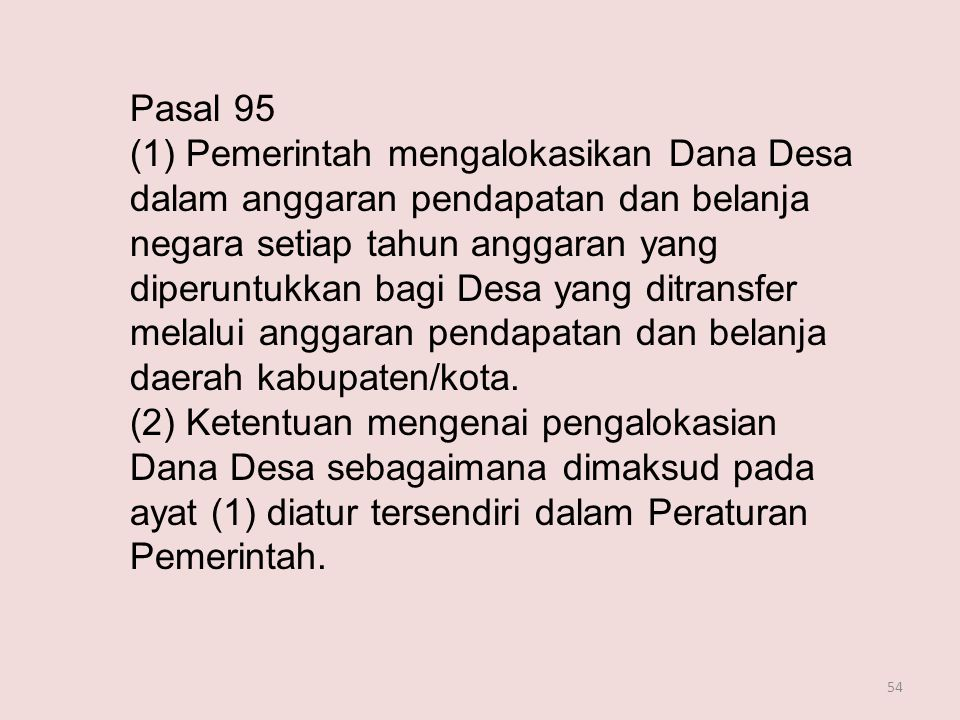 Pasal 95