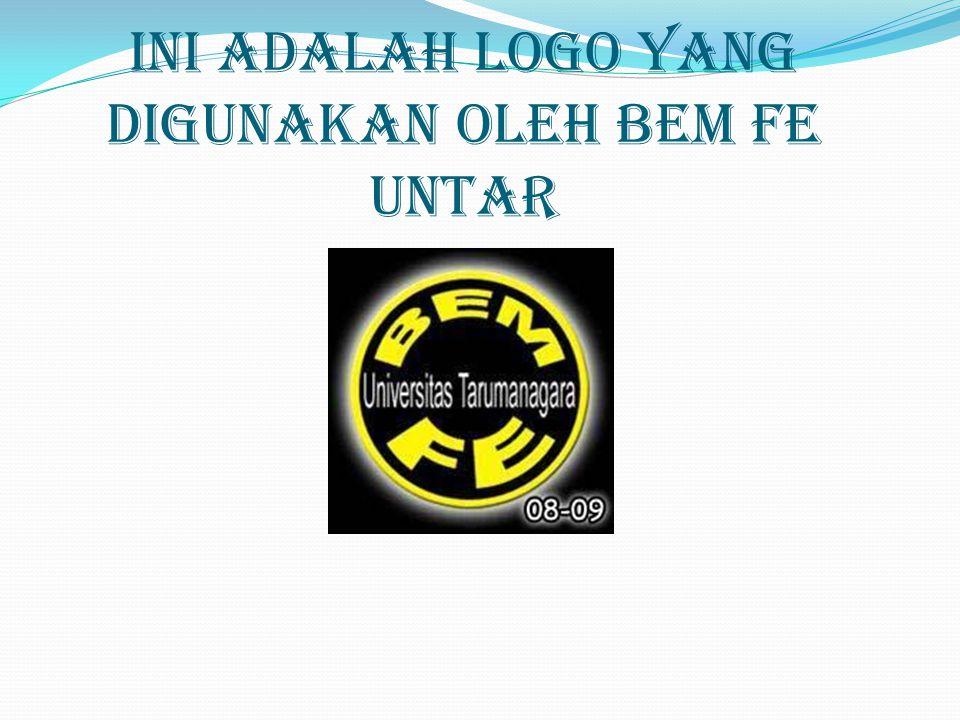 Ini adalah logo yang digunakan oleh Bem FE UNTAR