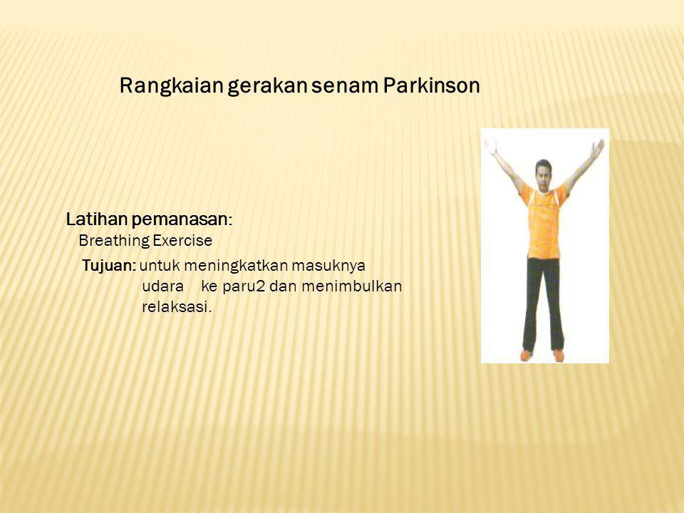 Rangkaian gerakan senam Parkinson