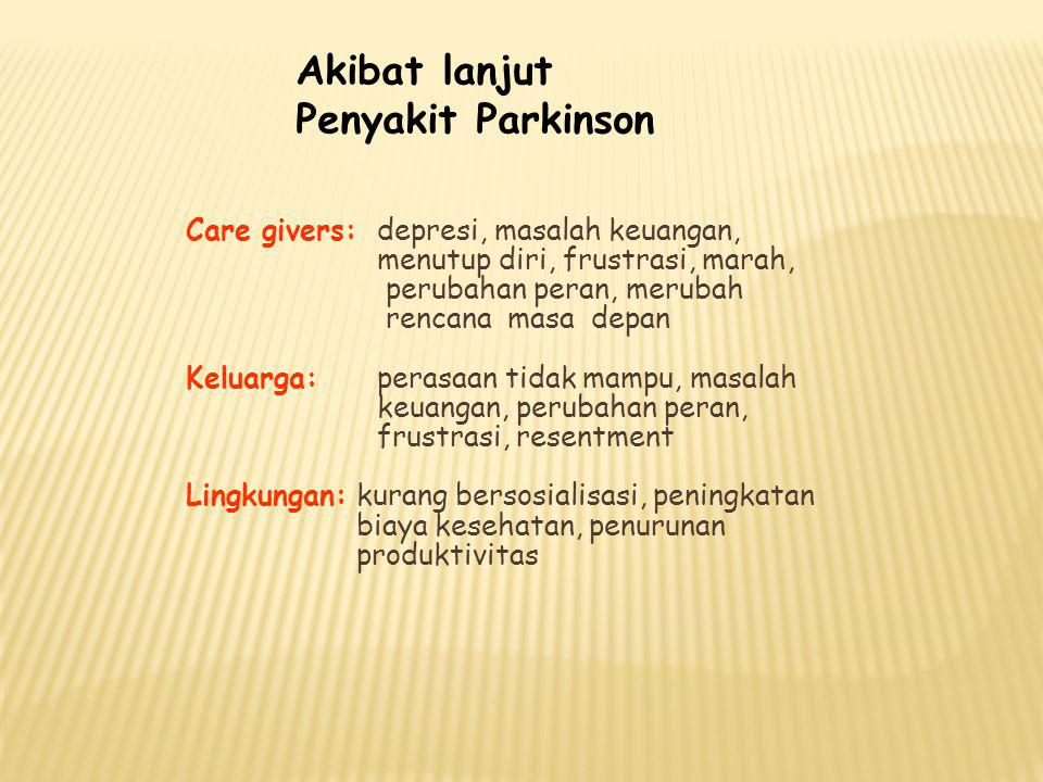 Akibat lanjut Penyakit Parkinson