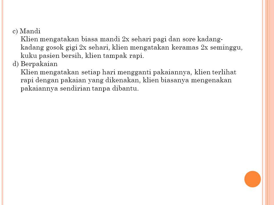 c) Mandi