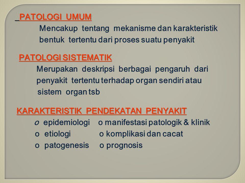 Mencakup tentang mekanisme dan karakteristik