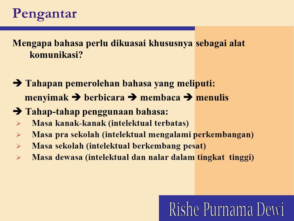 Pengantar Rishe Purnama Dewi
