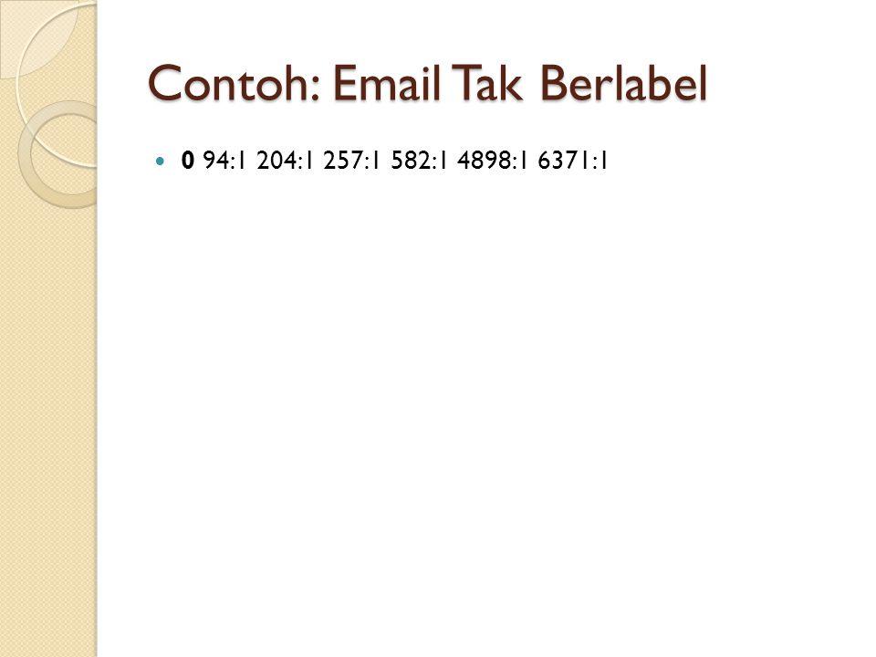 Contoh: Email Tak Berlabel