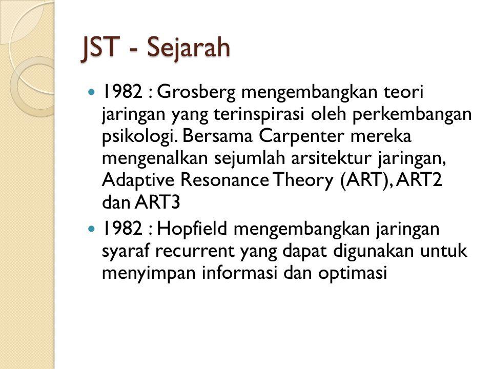 JST - Sejarah
