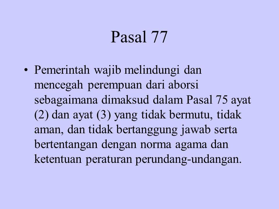 Pasal 77